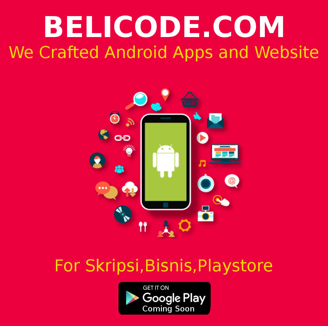 Jual Beli Source Code Android